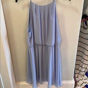 BEAUTIFUL periwinkle spring dress